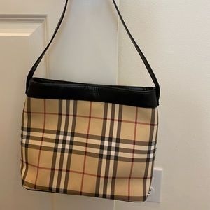 Authentic Burberry classic cherry tote.